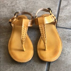 Frye leather sandals size 6